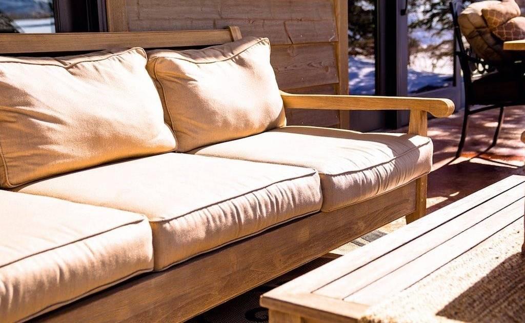 nanotecnologie per divani da esterno